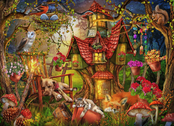 Sleepy Time Jigsaw Puzzle