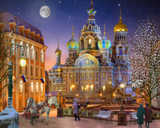 Russia with Love Jigsaw Puzzle