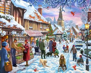 Winter Stroll Jigsaw Puzzle