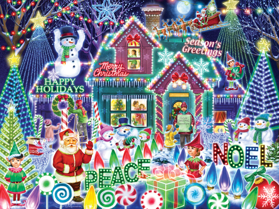 Festival of Lights Jigsaw Puzzle