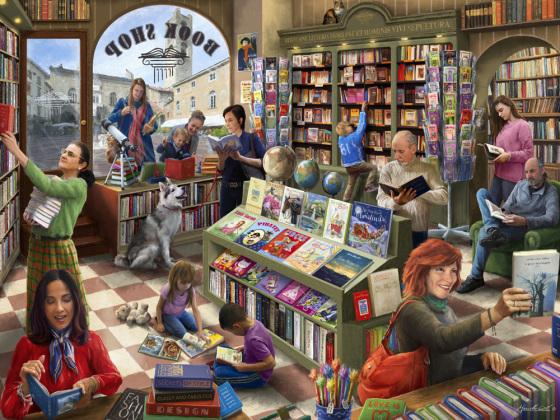 Book Shop Jigsaw Puzzle