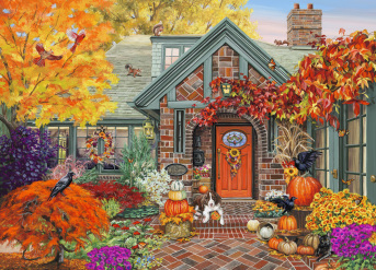 Autumn Welcome Jigsaw Puzzle