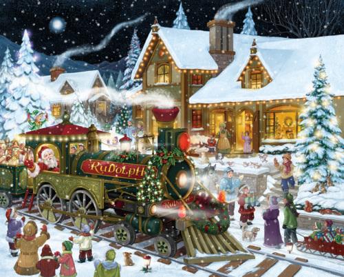 Santa's Express Jigsaw Puzzle