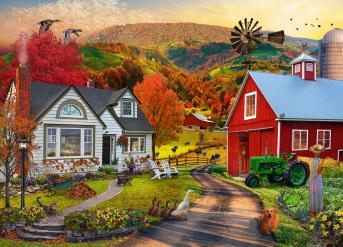 Country Farm Jigsaw Puzzle