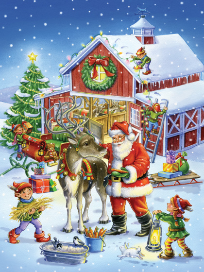 Ready Reindeer Jigsaw Puzzle