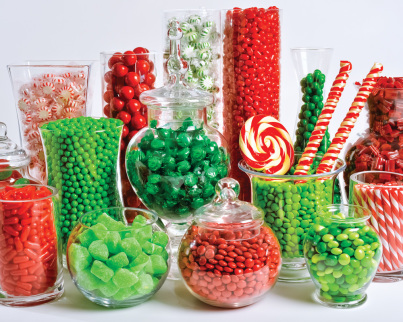 Christmas Candy Buffet Jigsaw Puzzle