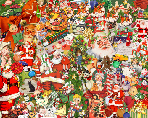 Vintage Christmas Jigsaw Puzzle