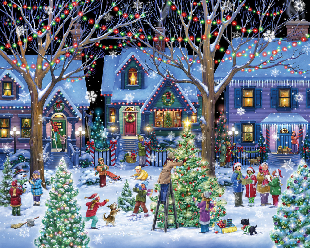 Jigsaw Puzzles: Holiday, Christmas, Easter, Collage, July 4th