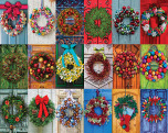 Holiday Wreaths Jigsaw Puzzle
