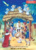 Nativity Chocolate Advent Calendar