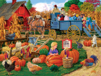 Come On, Boy Hayride Jigsaw Puzzle