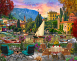 Al Fresco Italy Jigsaw Puzzle