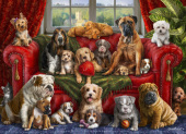 Love My Dogs Jigsaw Puzzle