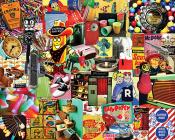 Retro, Retro, Retro Jigsaw Puzzle