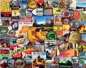 National Park Badges Jigsaw Puzzle
