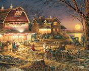 Harvest Moon Ball Jigsaw Puzzle