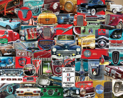 Classic Fords Jigsaw Puzzle
