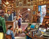 Cozy Book Shop Jigsaw Puzzle