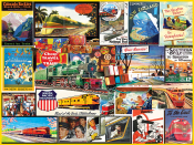 Travel by Train Jigsaw Puzzle