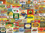 Vintage Food and Drink Jigsaw Puzzle