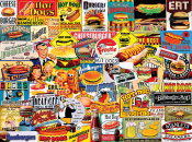 Burgers & Dogs Jigsaw Puzzle