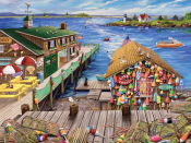 Lobster Pond Jigsaw Puzzle