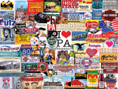 I Love Pennsylvania Jigsaw Puzzle