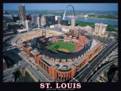 St Louis Cardinals Busch Stadium Jigsaw Puzzle