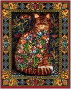 Tapestry Cat Jigsaw Puzzle