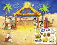 Starlit Stable Sticker Advent Calendar