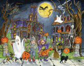 Little Goblins Countdown to Halloween Calendar