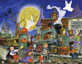 Spooky Express Countdown to Halloween Calendar