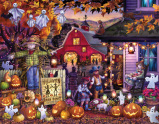 Halloween Barn Dance Countdown Calendar