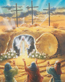 Resurrection Lenten Countdown Calendar