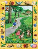 Easter Rabbits Countdown Calendar