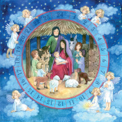 Adoring Angels Jumbo Advent Calendar