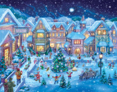 Holiday Village Square Advent Calendar