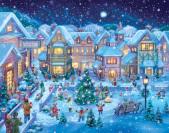 Holiday Village Square Advent Calendar