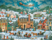 Christmas in Town Advent Calendar