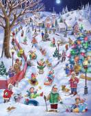 Sledding Snow Day Advent Calendar