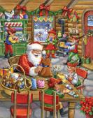 Santa's Workshop Advent Calendar
