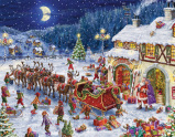 Santa's Sleigh Advent Calendar