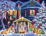 Nighttime Nativity Advent Calendar