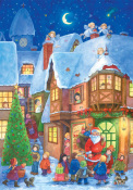 Santa's Visit Advent Calendar