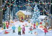Woodland Skaters Advent Calendar