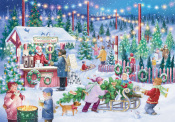 Christmas Tree Farm Advent Calendar