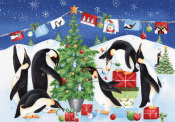 Playful Penguins Advent Calendar