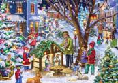 Neighborhood Nativity Advent Calendar