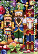 We Three Nutcrackers Advent Calendar