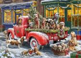 Doggone Christmas Christmas Card